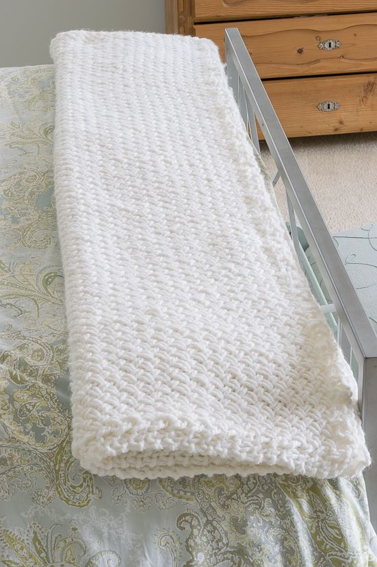 I ❤ this blanket! Instructions and a quick video showing how to ...