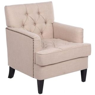 Classic Style Breathable Fbric Club Chair Sofa Funiture Accent