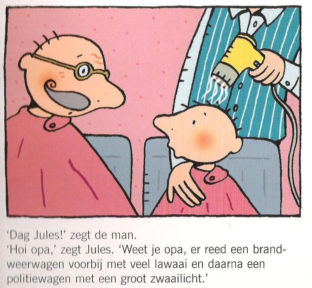 Afbeeldingsresultaat Voor Jules Bij De Kapper Kapper Kleurplaten Thema