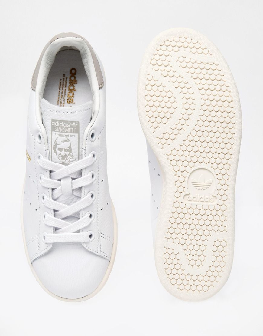best sneakers f9640 9dc63 Image 3 of adidas Originals White Stan Smith Trainers
