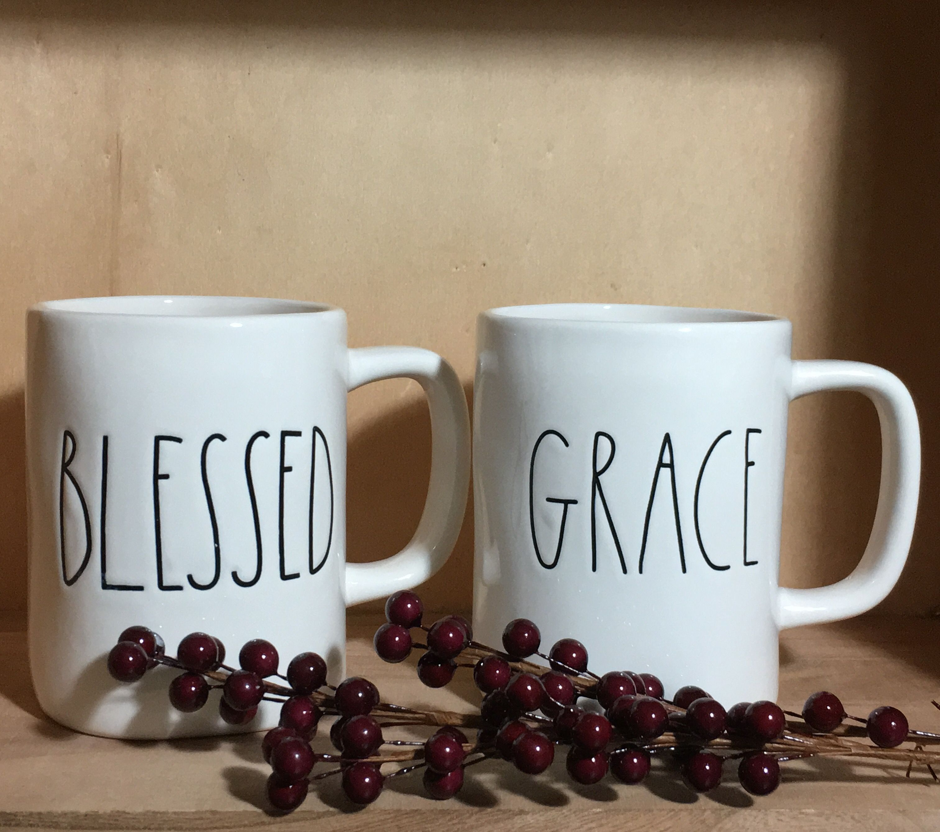 Rae Dunn Blessed Or Grace Mug Rae Dunn For Sale Pinterest