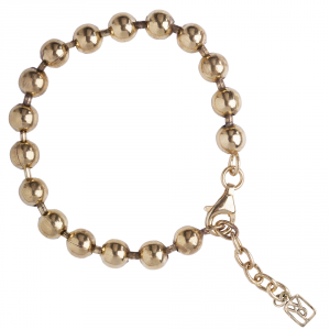 Curator Ball Bracelet – Brass