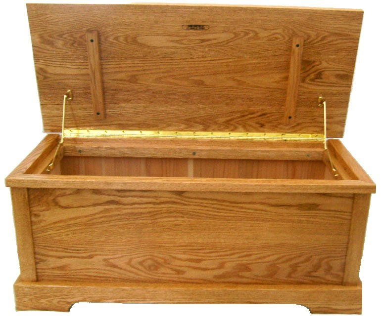 Solid Oak Cedar Lined Hope Chest W Golden Finish 399 95 Handmade Furniture Crafts And Unique Gifts By My Chaos Design
