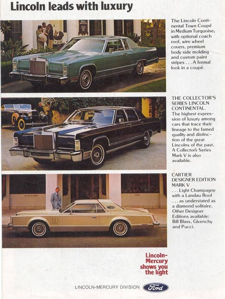 Lincoln...I had the coupe in black...and all the goodies listed on ...