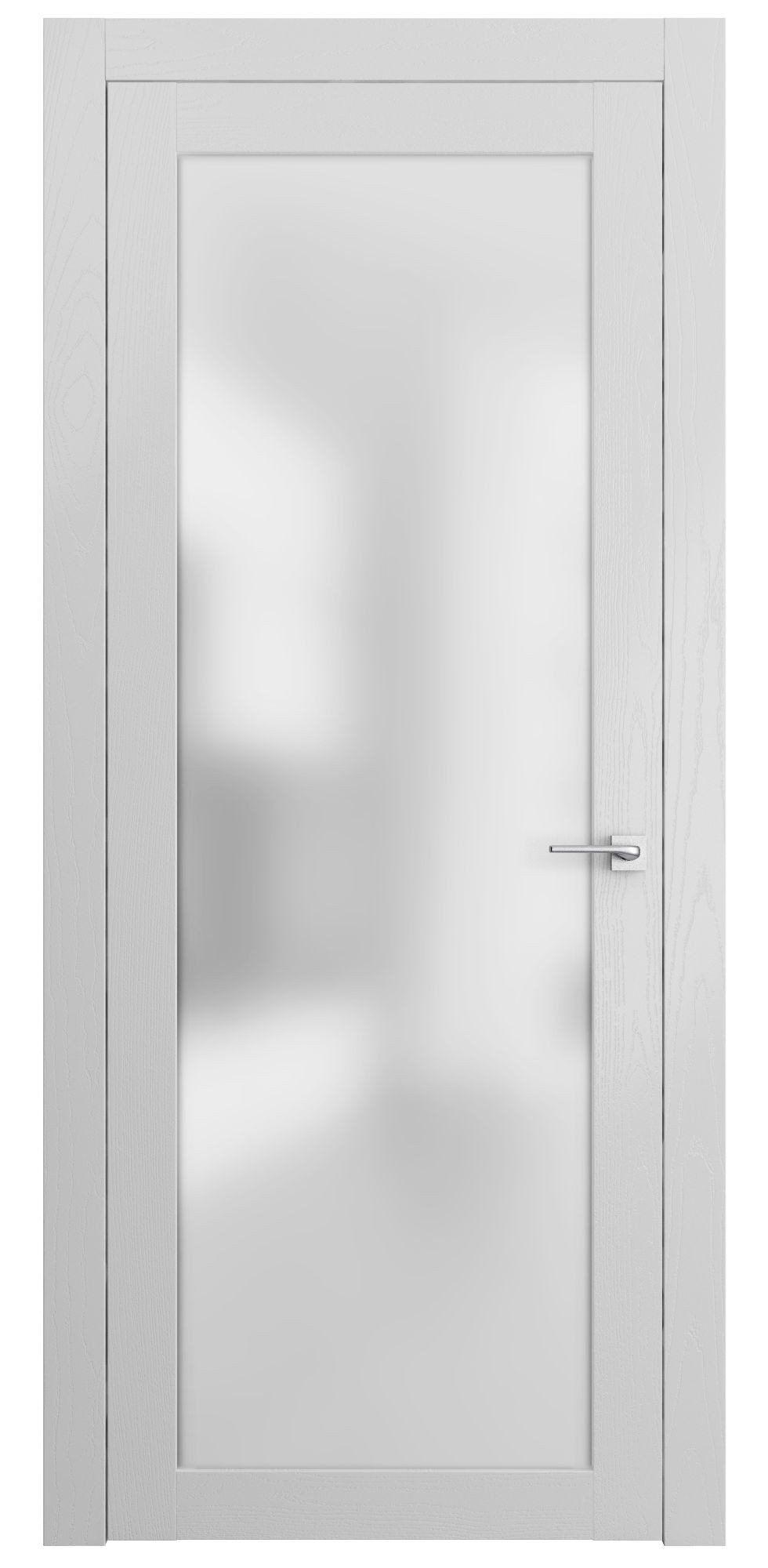 Sarto Planum 2102 Interior Door Snow White Ash Vertical Home