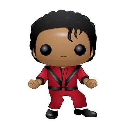 Popvinylfigs Michael Jackson Thriller Red Jacket Pop