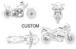 Bike View Plan Detail Dwg File Planos De Arquitectura Planos