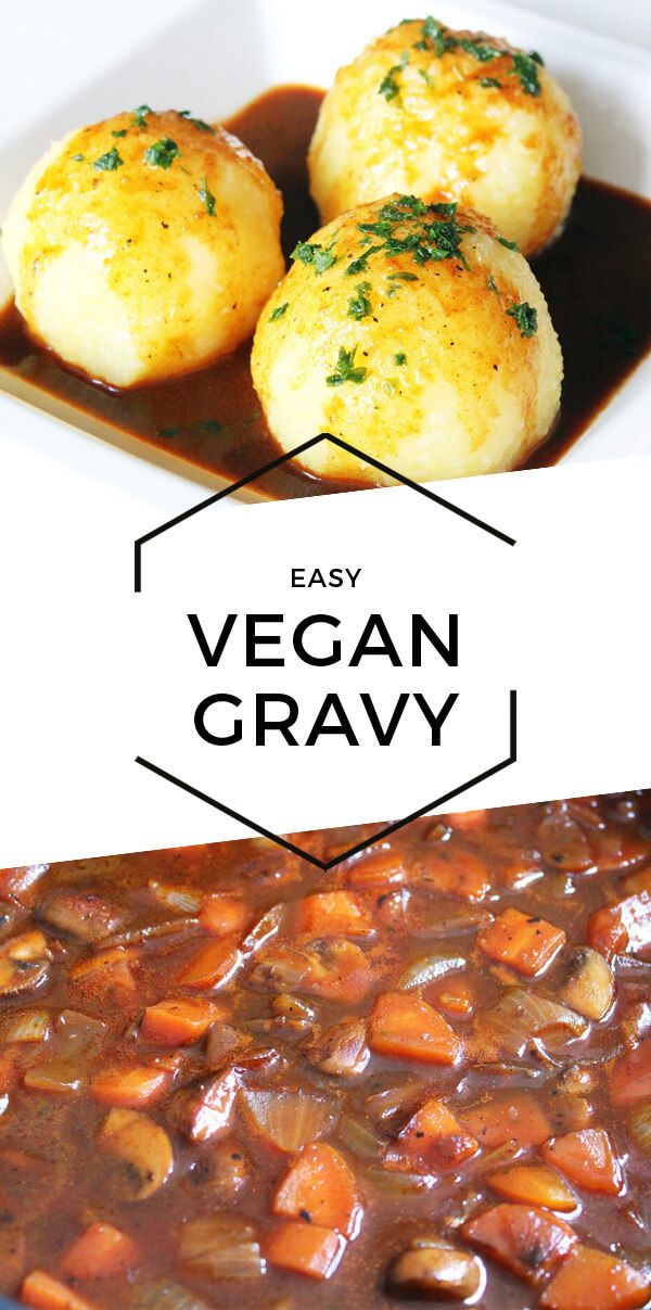 Easy Vegan Gravy (Without Alcohol) images