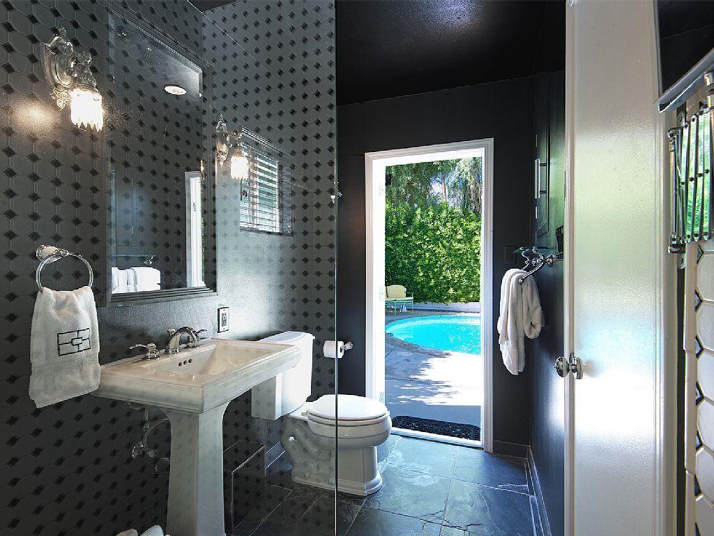 Pool Bathroom Shower Out To Swimming Pool Bathroom Pinterest - Bathroom remodel palm desert ca