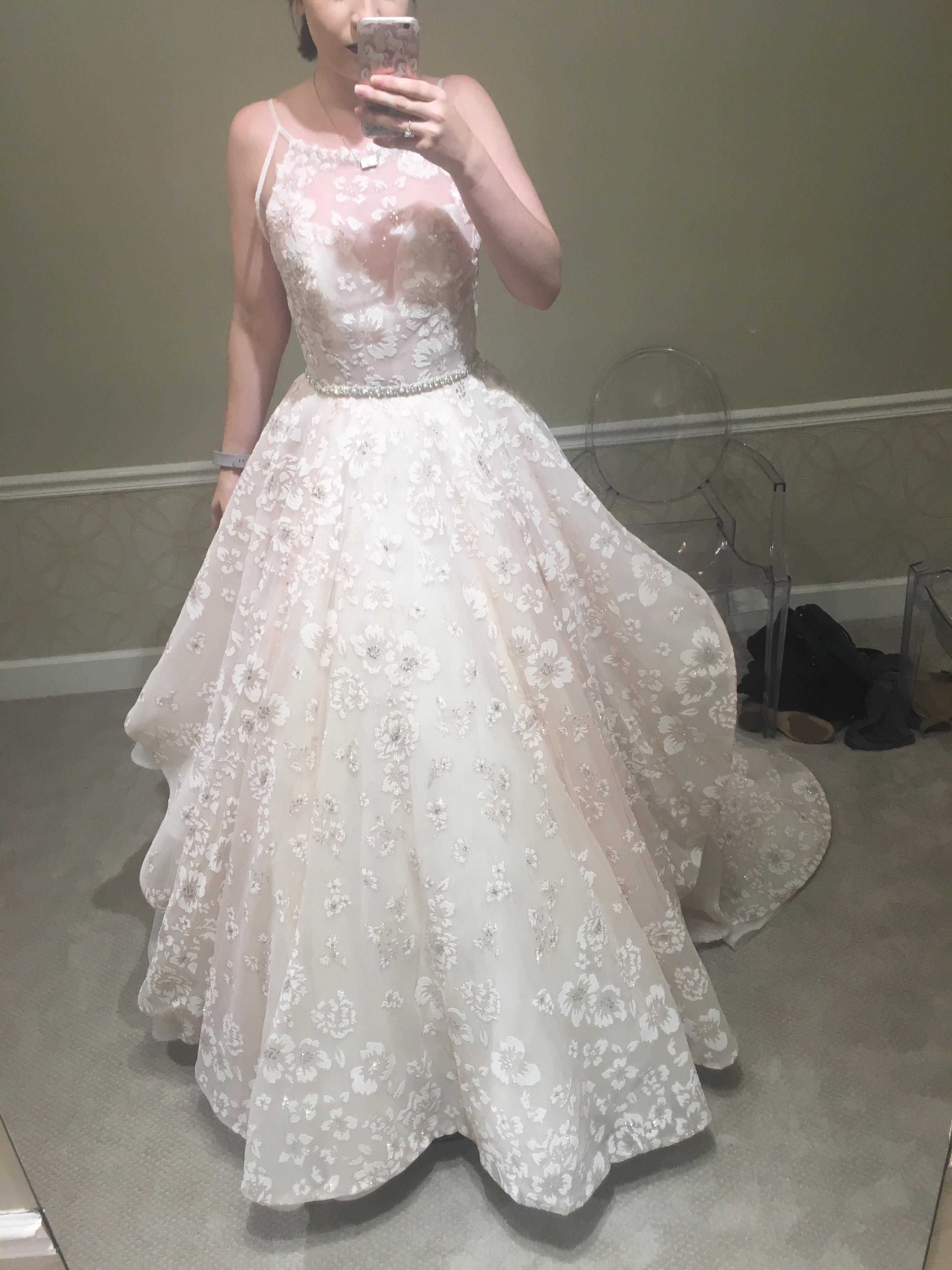 Its Hayley Paige Reagan Gown In Orchid Wedding Dresses