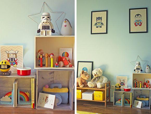 La chambre bébé de Darius Kids s, Kids rooms and Room