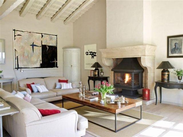Стиль кантри в интерьере    myidealdesignru stil-kantri-v - moderner landhausstil wohnzimmer
