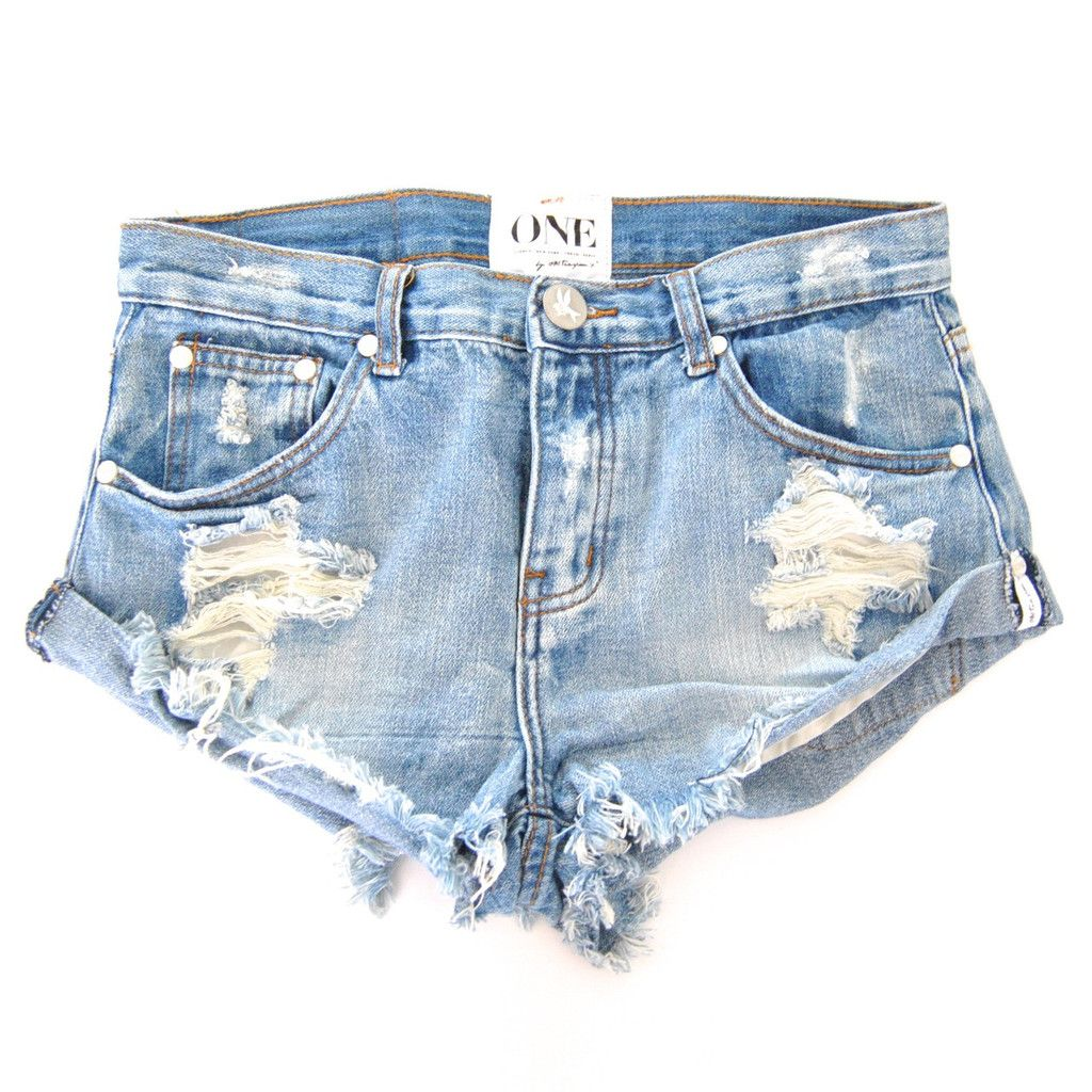 One Teaspoon Bandits Shorts In Hendrix Hendrix Bandits One Teaspoon