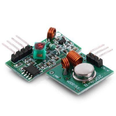 DIY 433MHz RF Transmitter Receiver Module Link Kit