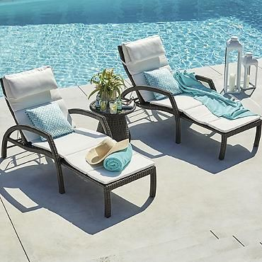 Convertible Chaise Lounge to a chair Pool Ideas