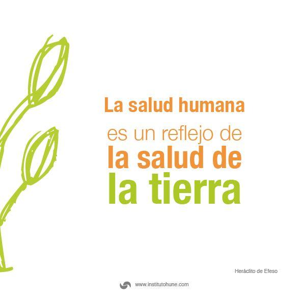 La #Salud humana es un reflejo de la salud de la tierra