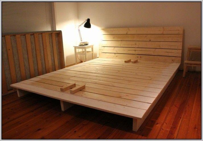 Bett Selber Bauen Einfach