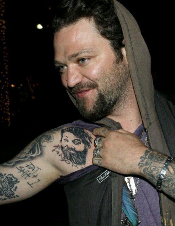 Bam Magera's memorail tattoo of Ryan Dunn