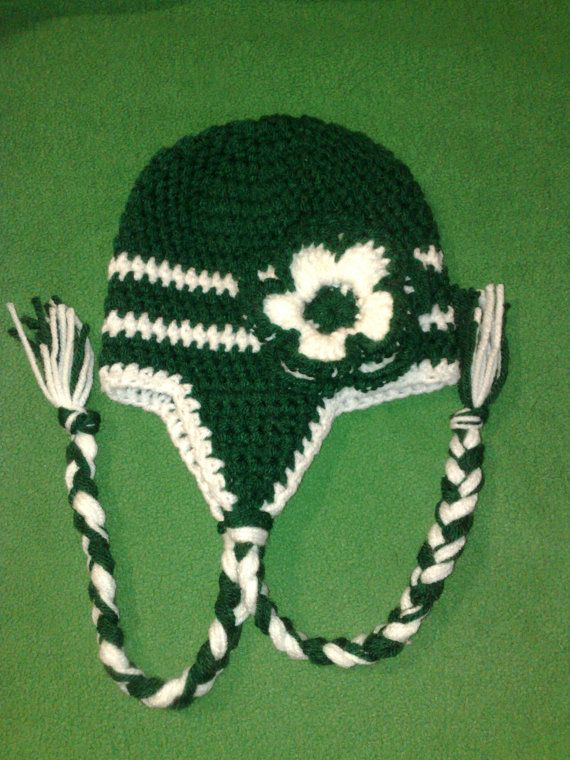 New York Jets Hat Summer Hat Football Hat by RevelynsHandcrafts, $14.00