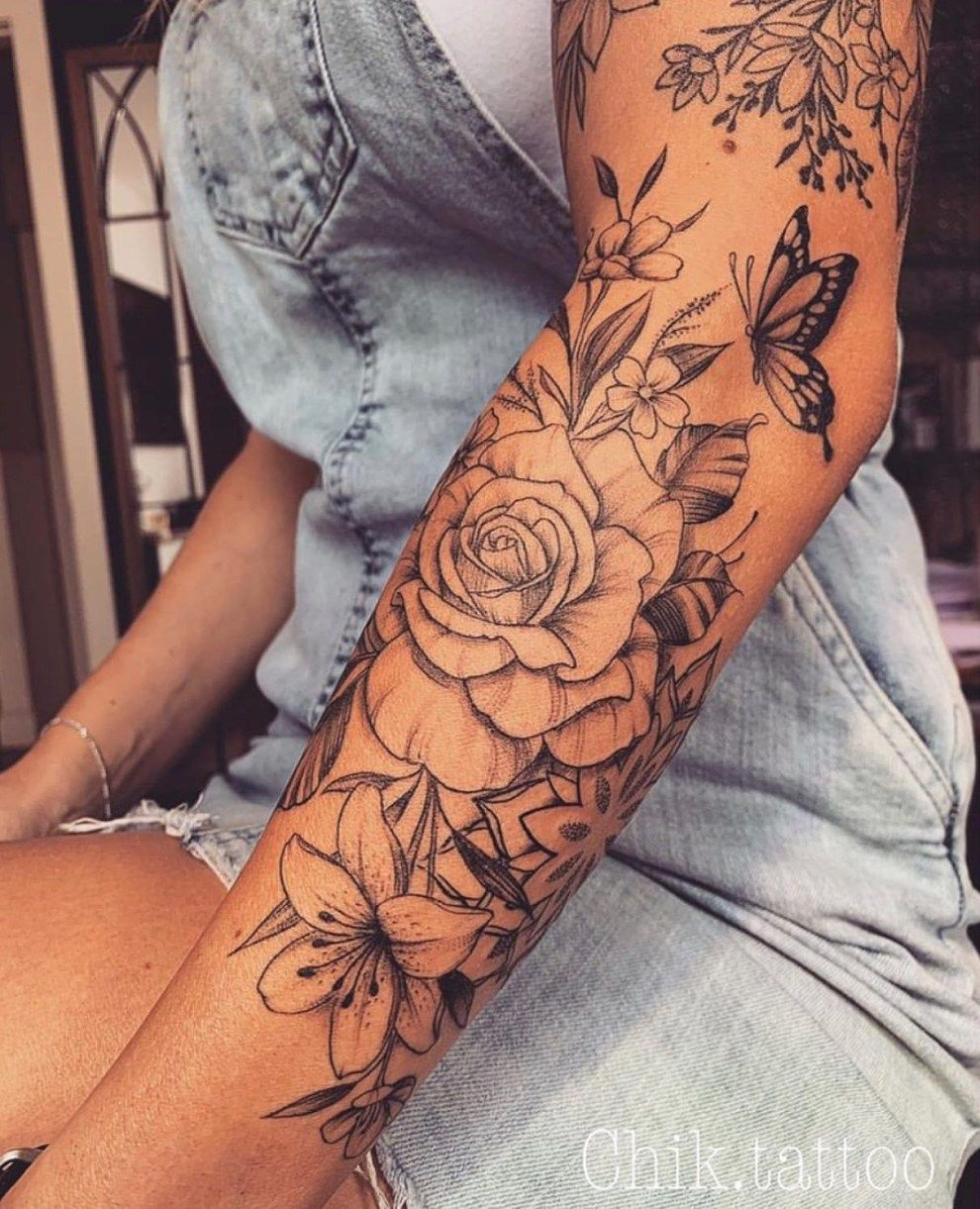 30+ Admiring Arm Tattoos Ideas For Women To Try Asap - AYAYOUTFITS