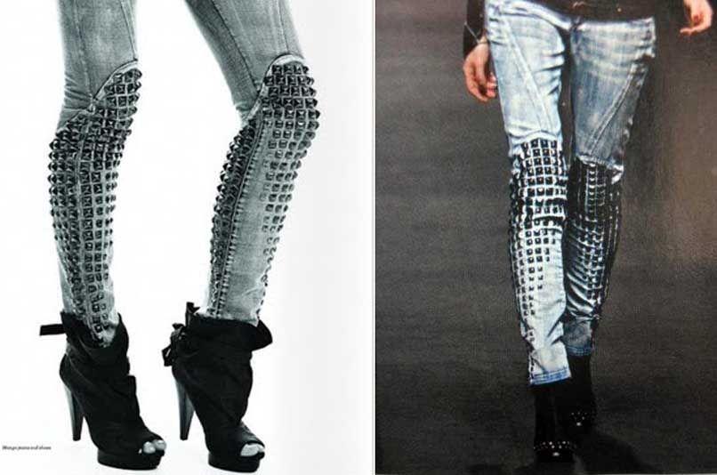 Sturdy jeans.