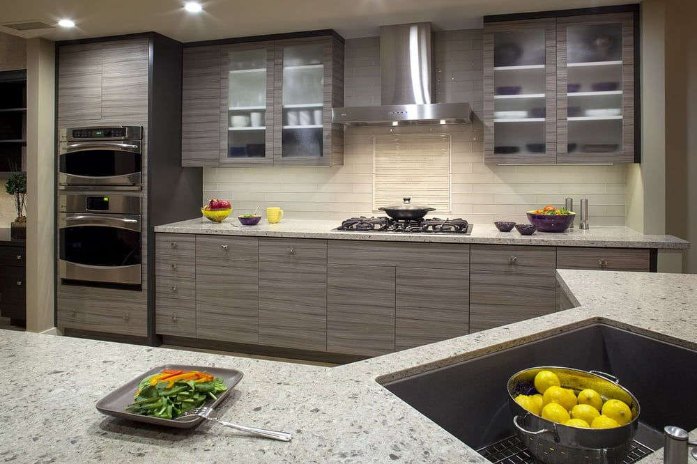 Photo Of Elements In Design Redwood City Ca United States Simplistically Elegant Contemporary Kitchen Cabinets Kitchen Kitchen Design