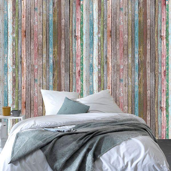 on voit les choses en grand avec ce d cor mural xxl ambiance loft color assur e 4 murs mur. Black Bedroom Furniture Sets. Home Design Ideas