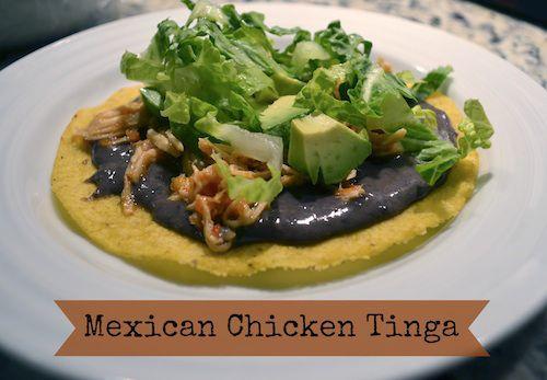 Easy Family Dinner: Mexican Tinga de Pollo (Chicken Tinga in the Crock-Pot)