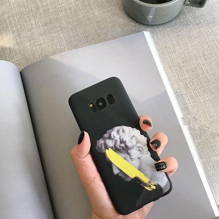 DCHZIUAN Artistic Sculpture David Telefonkasten Für Samsung Galaxy Note 9 Note 8 S8 S8plus S9 DCHZIUAN Artistic Sculpture David Telefonkasten Für Samsung Galaxy...