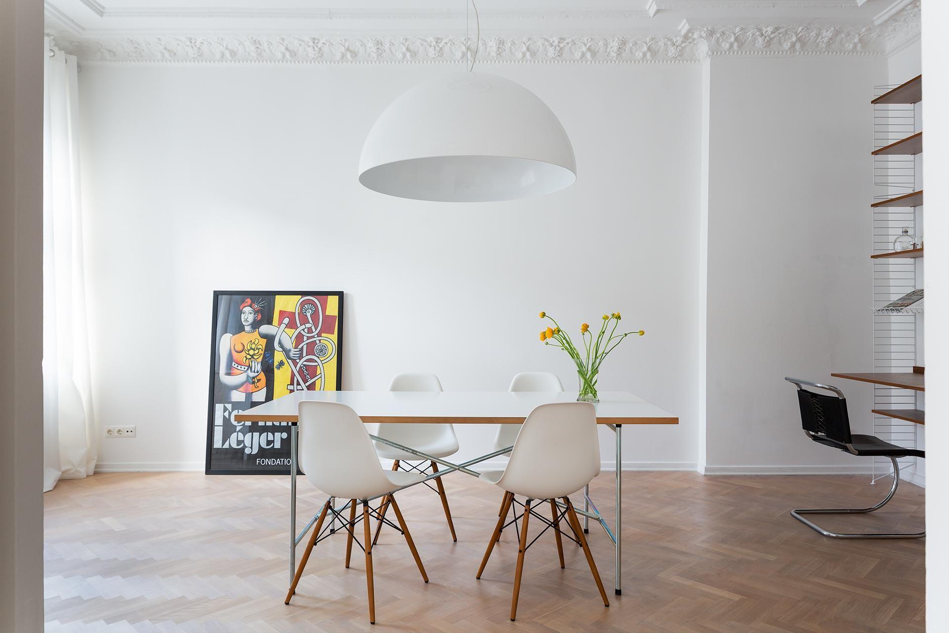 Berlin Livingroom Eames Novalisstrasse 4 Fantastic Frank