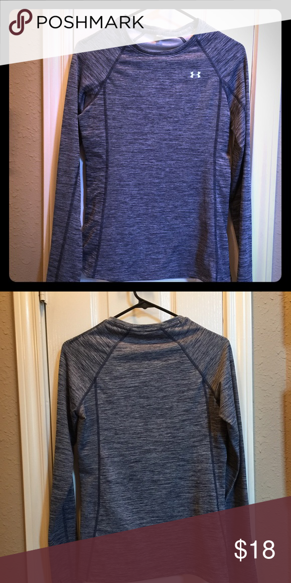 "Under Armour Fitted long sleeve shirt Under Armour fitted long sleeve ""twist design"" shirt. Size small. Never worn. Under Armour Tops Tees - Long Sleeve"