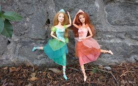 Delia Y Edeline De Barbie En Las 12 Princesas Bailarinas Barbie Bailarinas Princesas