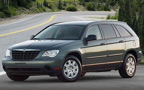 2008 Chrysler Pacifica Lx Station Wagon Galereya Daniya Fotografii