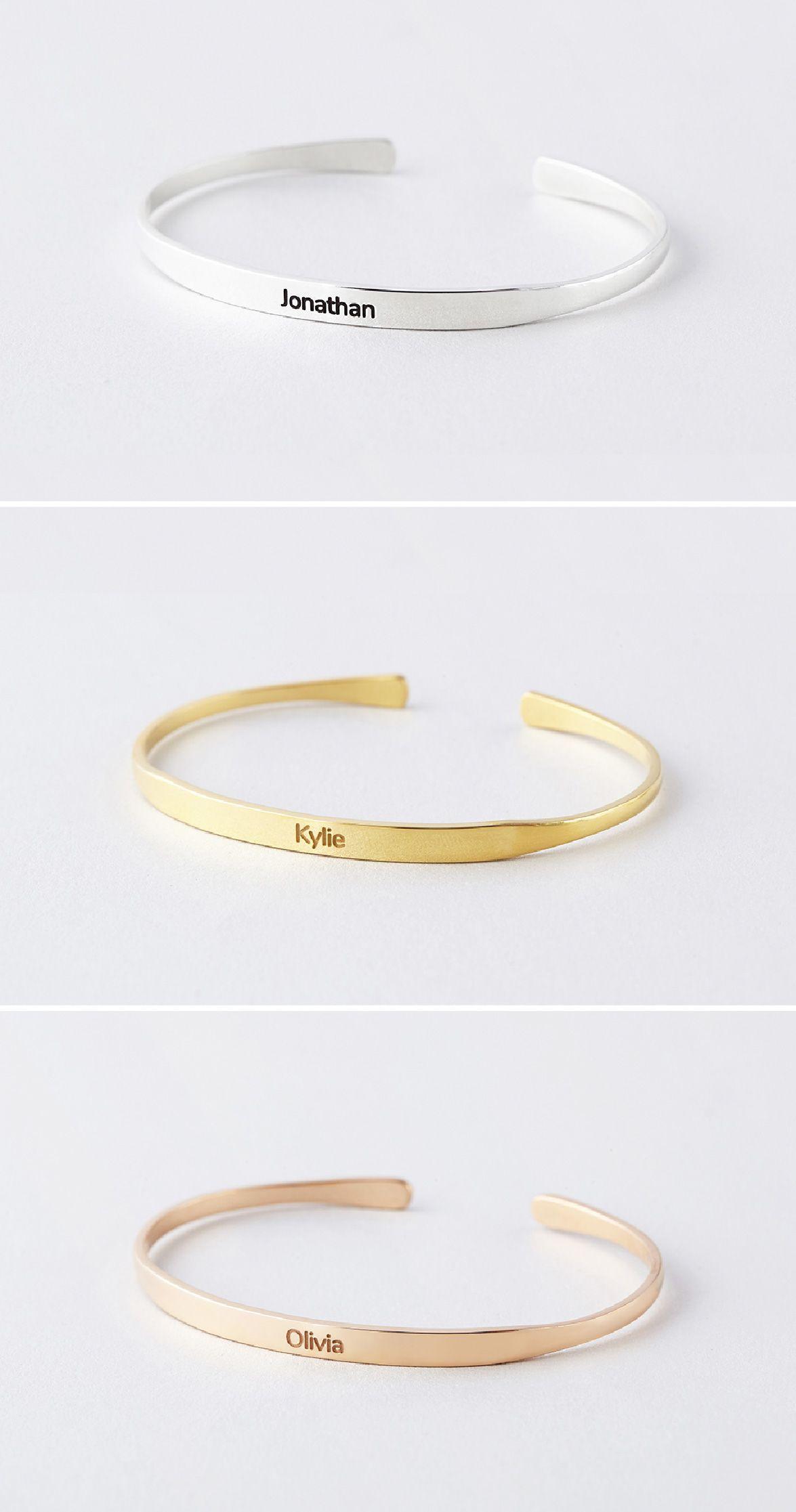 Name Bracelet With