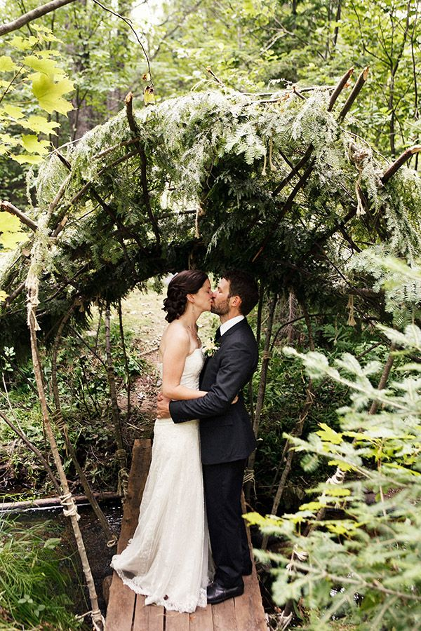 Upper Peninsula Woodsy Wedding Wedding, Woodsy wedding