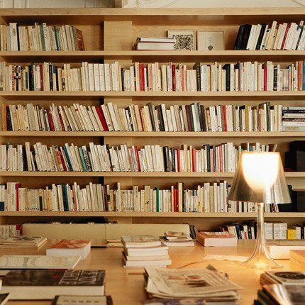 biblioth que horizontale tout en bois deco biblioth ques. Black Bedroom Furniture Sets. Home Design Ideas