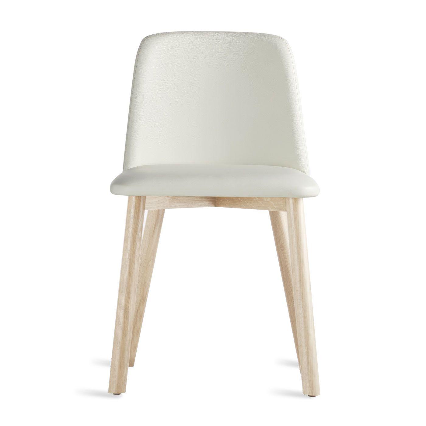 Phenomenal Chip Dining Chair Smoke Brown Leather Audrey Living Bralicious Painted Fabric Chair Ideas Braliciousco