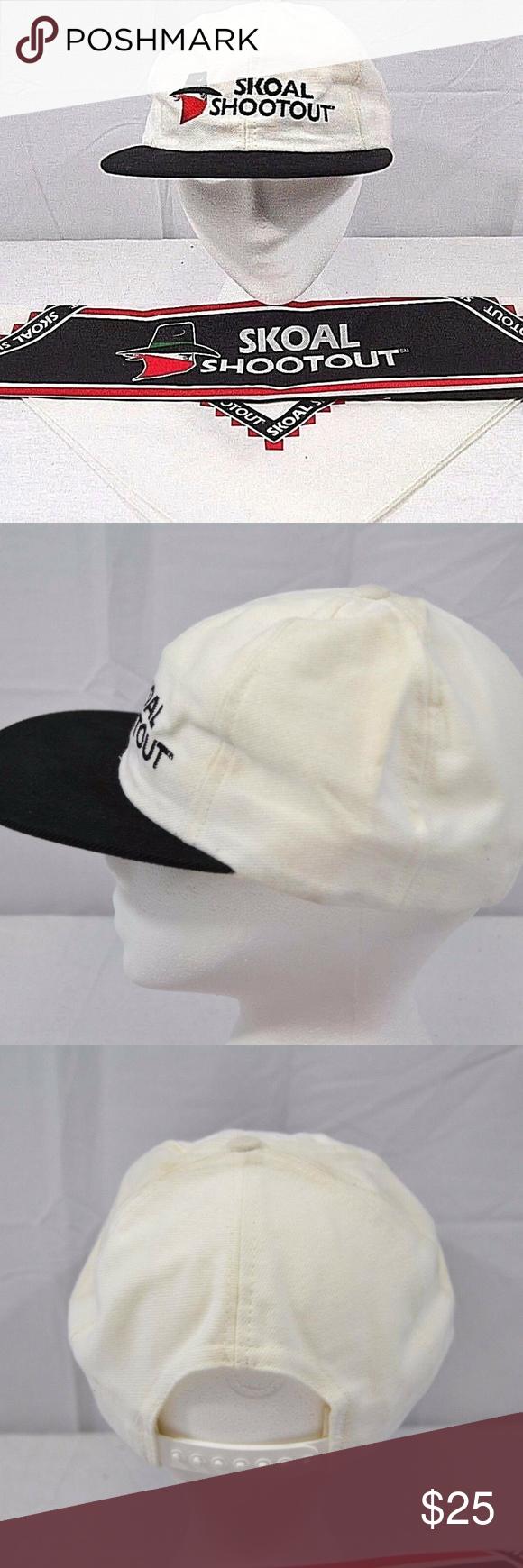 Skoal Shootout White Black Baseball Cap Snapback U Black Baseball Cap Black And White Man White And Black