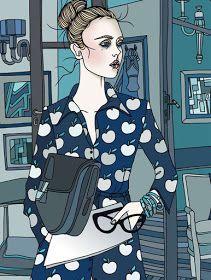 Whimsical World of Laura Bird: Liselotte Watkins - Fashion Illustrator