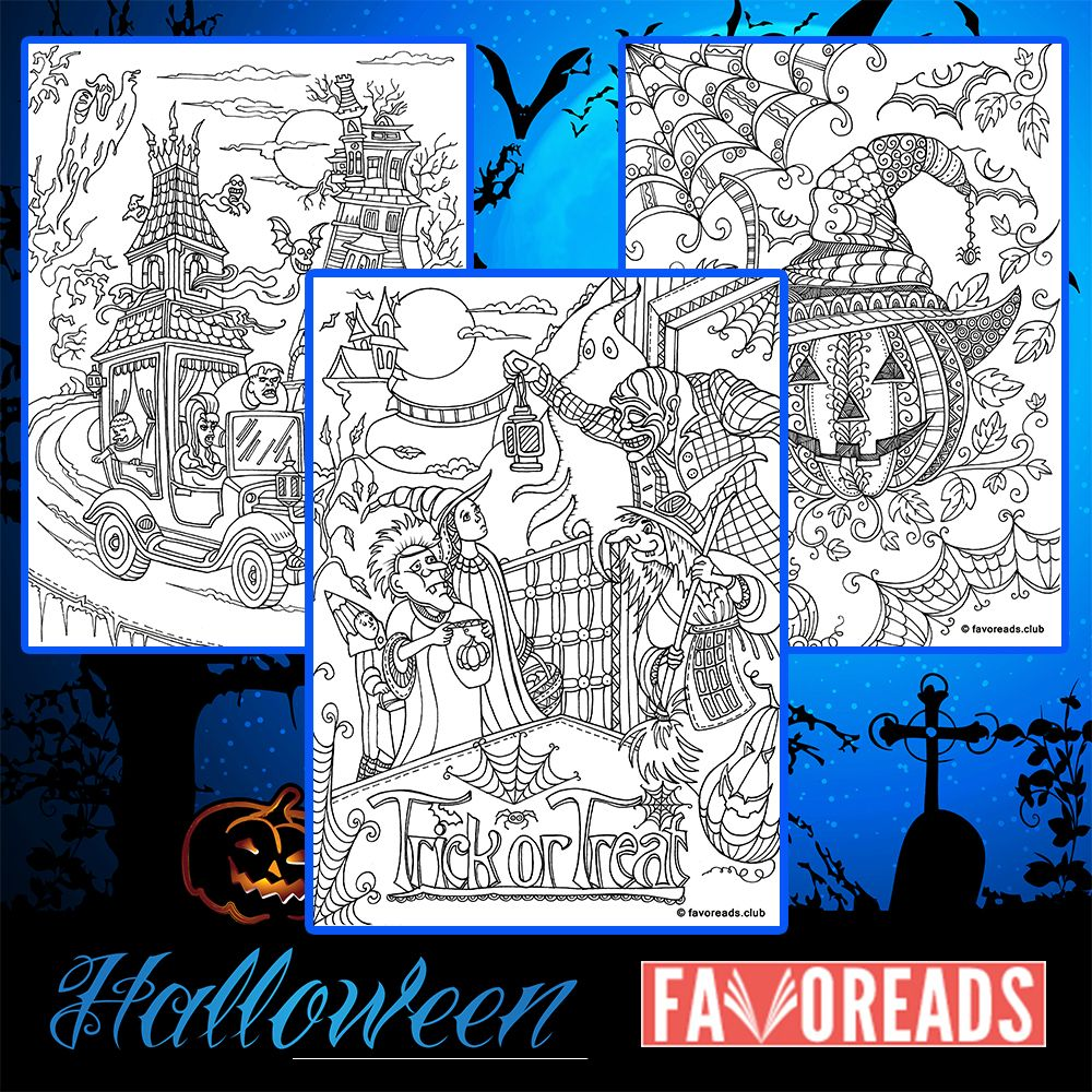 free printable coloring pages halloween coloring and coloring