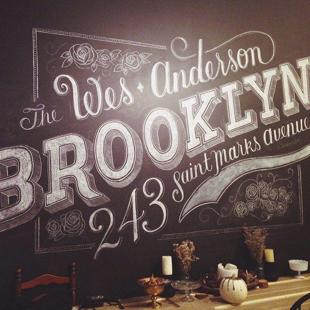 Home sweet Brooklyn // type by Dana Tanamachi