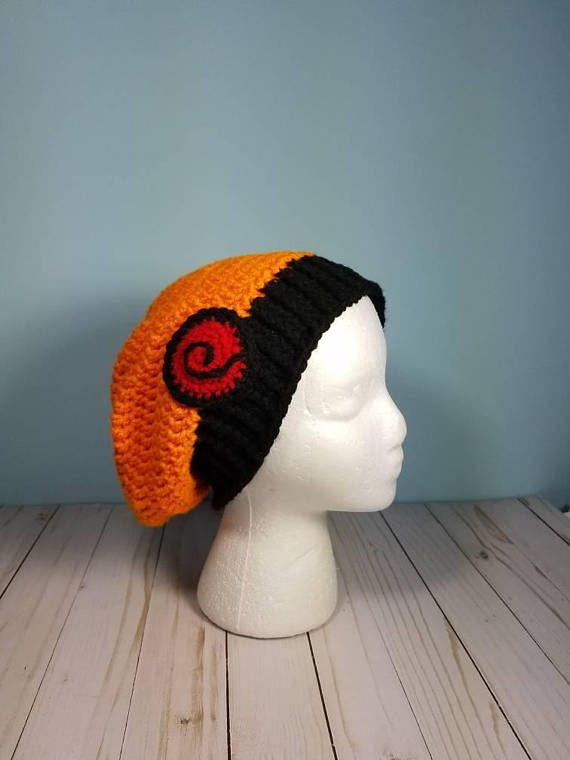 e9ffcb7dbbc Naruto Uzumaki Crochet Hat Sizes Teen to Adult Made-to-Order Etsy Shop   Country Dazzles Great for Cosplay