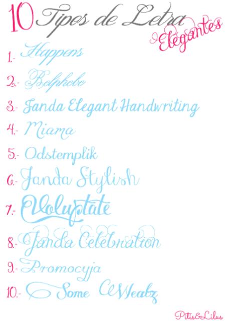 10 Tipos De Letra Elegantes Para Navidad O Cualquier Ocasión Handbox Craft Lovers Lettering Learning Letters Beautiful Fonts