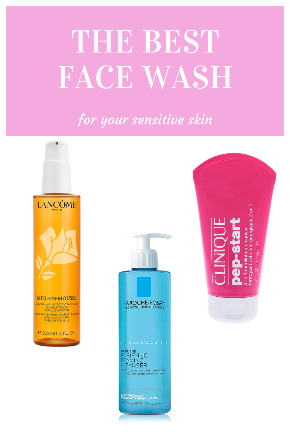Cleansers for Sensitive Skin in 2020 Cleanser for