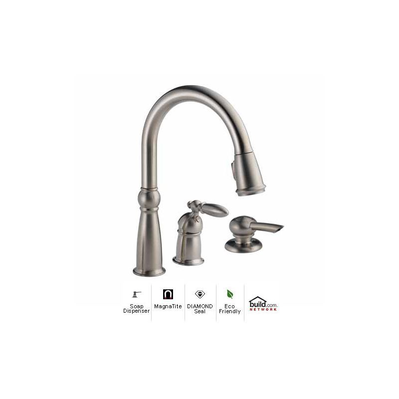 View the Delta 955-SS-DST-SD Brilliance Stainless Victorian Pull ...