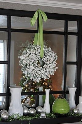White Berry Wreath Supplies From Dollar Tree  Bunches Of White