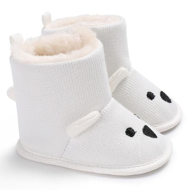 Bear Winter Booties Kids Shoes Crochet Toddler Shoes Et