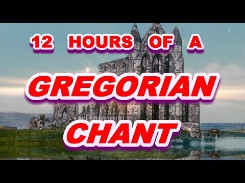 Monks chanting Gregorian chant - 8 Hrs for a peaceful sleep. - YouTube