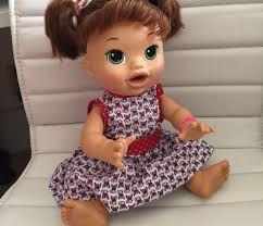 Resultado de imagem para medidas da boneca baby alive