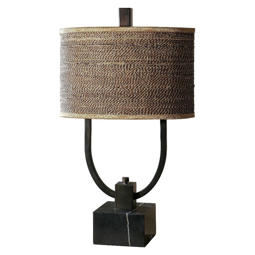 Bri Rattan Table Lamp